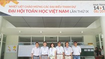 Trường Đại học Hoa Sen tham dự Đại hội Toán học Việt Nam