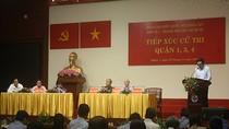 Cử tri Thành phố Hồ Chí Minh mừng vì Tổng Bí Thư được bầu làm Chủ tịch nước