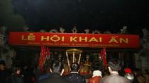 An ninh thắt chặt, người thưa thớt trong đêm khai ấn đền Trần 2012