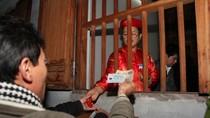 """Bất ngờ: Một """"túi lương"""" ở đền Trần Thương (Hà Nam) có giá 20.000 đồng"""
