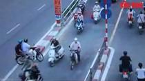 Xôn xao Clip cảnh vi phạm giao thông có lời bình như 'bình luận viên'