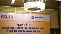 Hôm nay, chính thức sáp nhập ngân hàng Habubank vào SHB