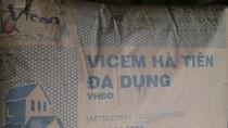 Mập mờ chất lượng xi măng mang nhãn hiệu Hà Tiên đa dụng