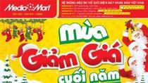 Media Mart giảm giá hàng loạt sản phẩm mùa Noel