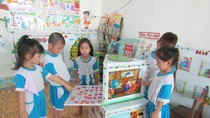Chiếc tủ kỳ diệu của các cô giáo mầm non