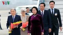 Chủ tịch nước đang chủ trì lễ đón chính thức Nhà vua Nhật Bản và Hoàng hậu