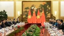 Kết quả hội đàm giữa Chủ tịch nước Trần Đại Quang với Chủ tịch Trung Quốc