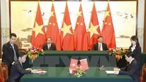 Chủ tịch nước Trần Đại Quang gửi điện cảm ơn Chủ tịch Trung Quốc Tập Cận Bình
