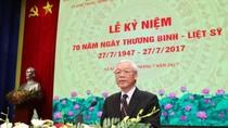 Lễ kỷ niệm trọng thể 70 năm Ngày Thương binh - Liệt sỹ