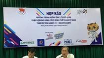 Tập đoàn Tân Hiệp Phát đồng hành cổ vũ đoàn thể thao Việt Nam tham dự SEA Games