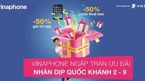 """""""Bão"""" khuyến mại của VinaPhone chào mừng Quốc khánh"""