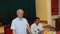 Tổng Bí thư Nguyễn Phú Trọng: Đừng ham dự án mà phát triển nóng