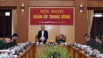 Chủ tịch nước Trần Đại Quang dự, chỉ đạo Hội nghị Quân ủy Trung ương