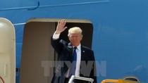 Hình ảnh Tổng thống Hoa Kỳ Donald Trump đặt chân tới Đà Nẵng