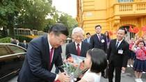 Lễ đón chính thức Tổng Bí thư, Chủ tịch Trung Quốc Tập Cận Bình