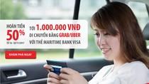 Maritime Bank phối hợp với Grab và Uber mang đến ưu đãi 'khủng' cho khách hàng
