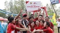 """""""Nhịp cầu ước mơ"""" tiếp tục đến với người dân Thị xã Tân Châu, An Giang trước Tết"""