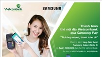Nhiều ưu đãi hấp dẫn cho khách hàng khi phát hành và thanh toán thẻ Vietcombank