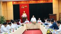 Bộ trưởng Bộ Giáo dục và Đào tạo Phùng Xuân Nhạ làm việc tại tỉnh Quảng Ngãi