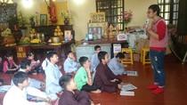 Lớp học thiện nguyện tại chùa Hòa Phúc