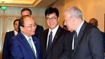 Thủ tướng dự tọa đàm bàn tròn với các công ty đa quốc gia