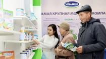 """Vinamilk là """"doanh nghiệp xuất khẩu uy tín"""" năm 2017"""