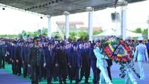Người dân dự Lễ truy điệu Chủ tịch nước tại quê nhà Ninh Bình