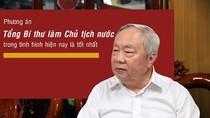 Ông Vũ Mão nói ủng hộ mô hình Tổng Bí thư làm Chủ tịch nước