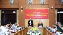 Phó Thủ tướng Trương Hòa Bình dự buổi làm việc với Quân uỷ Trung ương
