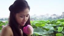 Thiếu nữ Hà Thành thướt tha tà áo dài khoe sắc cùng hoa sen Hồ tây(P2)