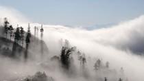 Mây luồn tuyệt đẹp xuất hiện ở Sa Pa