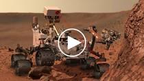 Video: Tàu Curiosity bắn phát laser đầu tiên khám phá địa chất sao Hỏa