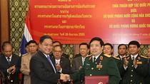 Việt Nam – Thái Lan ký Thỏa thuận hợp tác quốc phòng