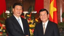 Báo TQ đưa tin về chuyến thăm Việt Nam của ông Tập Cận Bình