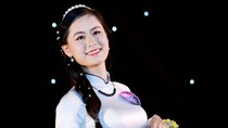 Chùm ảnh: Miss Đại học Sư phạm Hà Nội diện áo dài cực xinh