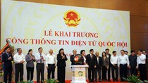 Ra mắt Cổng thông tin điện tử Quốc hội