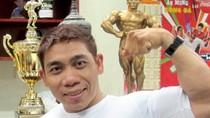 Ngắm cơ bắp cuồn cuộn của siêu lực sĩ mê ca hát Phạm Văn Mách