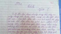 Xúc động những dòng thư nhận lỗi của một cô bé lớp 11 viết gửi mẹ!