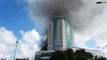 Cháy lớn tại tòa nhà cao nhất Hà Tĩnh, 1 người chết