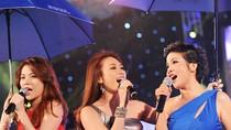 4 sao Việt 'toàn Mỹ' biểu diễn dưới trời mưa Hà Nội