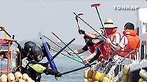 Sự manh động, nguy hiểm của tàu cá Trung Quốc