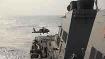 Tàu chiến Mỹ cứu 5 ngư dân Philippines gặp nạn trên Biển Đông