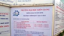 Trường Đại học Kiên Giang bị buộc dừng 3 lớp đào tạo chui