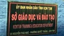 """Kon Tum đề nghị báo chí có trách nhiệm giải thích rõ """"bất thường"""" về điểm thi"""