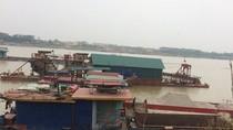 Vĩnh Phúc cần làm rõ tình trạng khai thác cát trái phép trên sông Hồng
