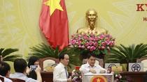 Hôm nay, Hội đồng Nhân dân Hà Nội bỏ phiếu tín nhiệm đối với 36 chức danh