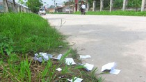 Phao thi xuất hiện nhan nhản ở các trường ngoại thành Hà Nội