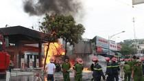 Đã khống chế hoàn toàn đám cháy, nổ lớn tại cây xăng gần viện 108