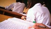 Xuất hiện video vi phạm quy chế thi tốt nghiệp tại một trường ở Hà Nội