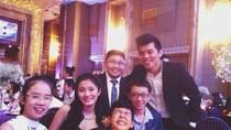 Rò rỉ ảnh thí sinh The Voice Kids dự tiệc cưới của Thanh Bùi